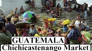 Guatemala/Colorful beautiful Chichicastenango Market  Part 10