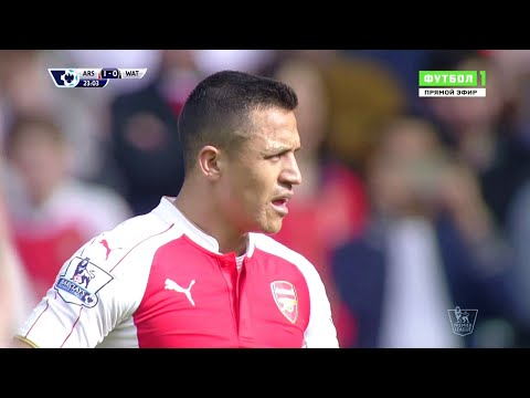 Alexis Sanchez vs Watford (Home) 15-16 HD 720p - English Commentary