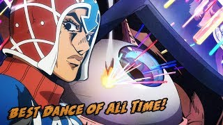 Best Anime Dance of All Time? | JoJo's Bizarre Adventure Golden Wind Episode 7
