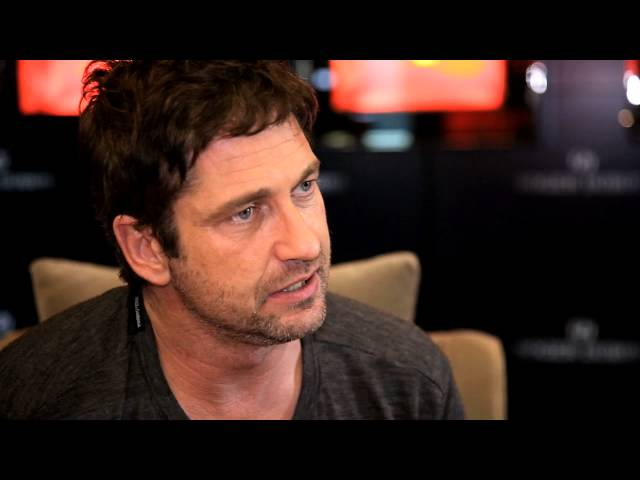 In conversation with Gerard Butler