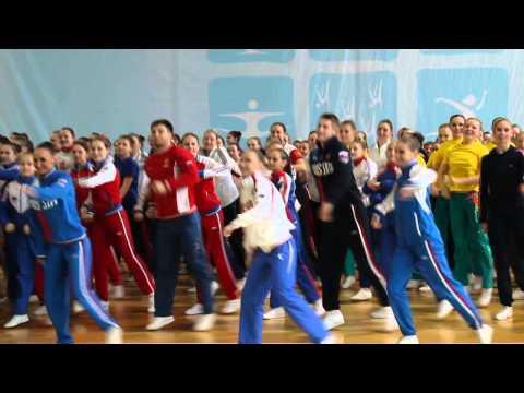 В Чебоксарах открылся чемпионат России по спортивной аэробике