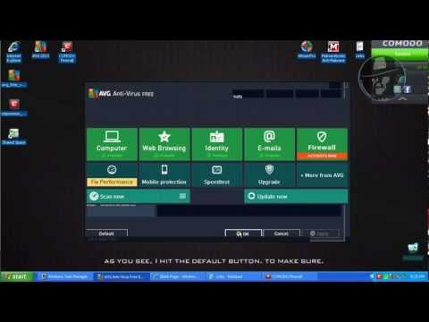 AVG Antivirus 2013 with Comodo Firewall 6 - Test with more links