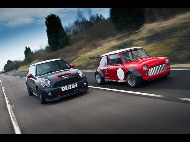 World's fastest Minis - Mini JCW GP vs ZCars Mini Busa ...