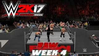 Wwe2k Universe Mode I The Reality Era (Raw week 4)