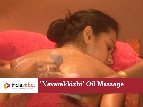 Ayurveda Panchakarma Navarakkizhi Oil Massage Kerala India video
