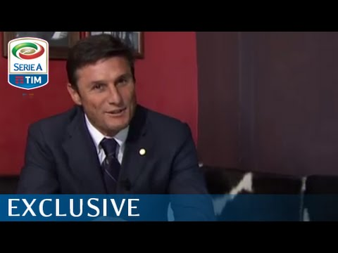 Talking with Javier Zanetti - Serie A TIM 2015/16 - ENG