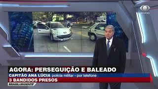 Perseguição e baleado após assalto à residência em São Paulo