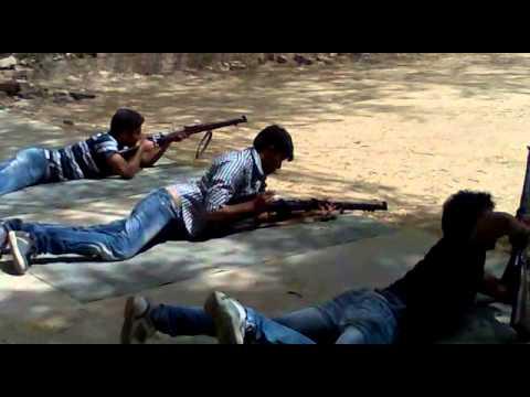 By PO Cadet Umesh Singh Shahi Firing Training at Shooting Range (NCC)