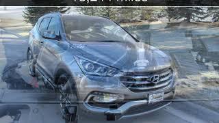 2018 Hyundai Santa Fe Sport 2.0T Ultimate Used Cars - Great Falls,Montana - 2019-01-17