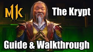 MORTAL KOMBAT 11 - The Krypt Full Walkthrough Guide with 100% Key Items Completion (MK11)