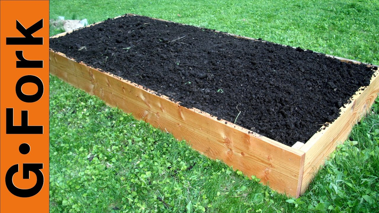 How To Make Raised Garden Bed Video