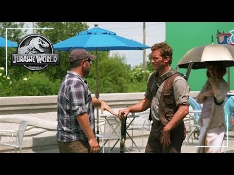 Chris Pratt Interviews Colin Trevorrow