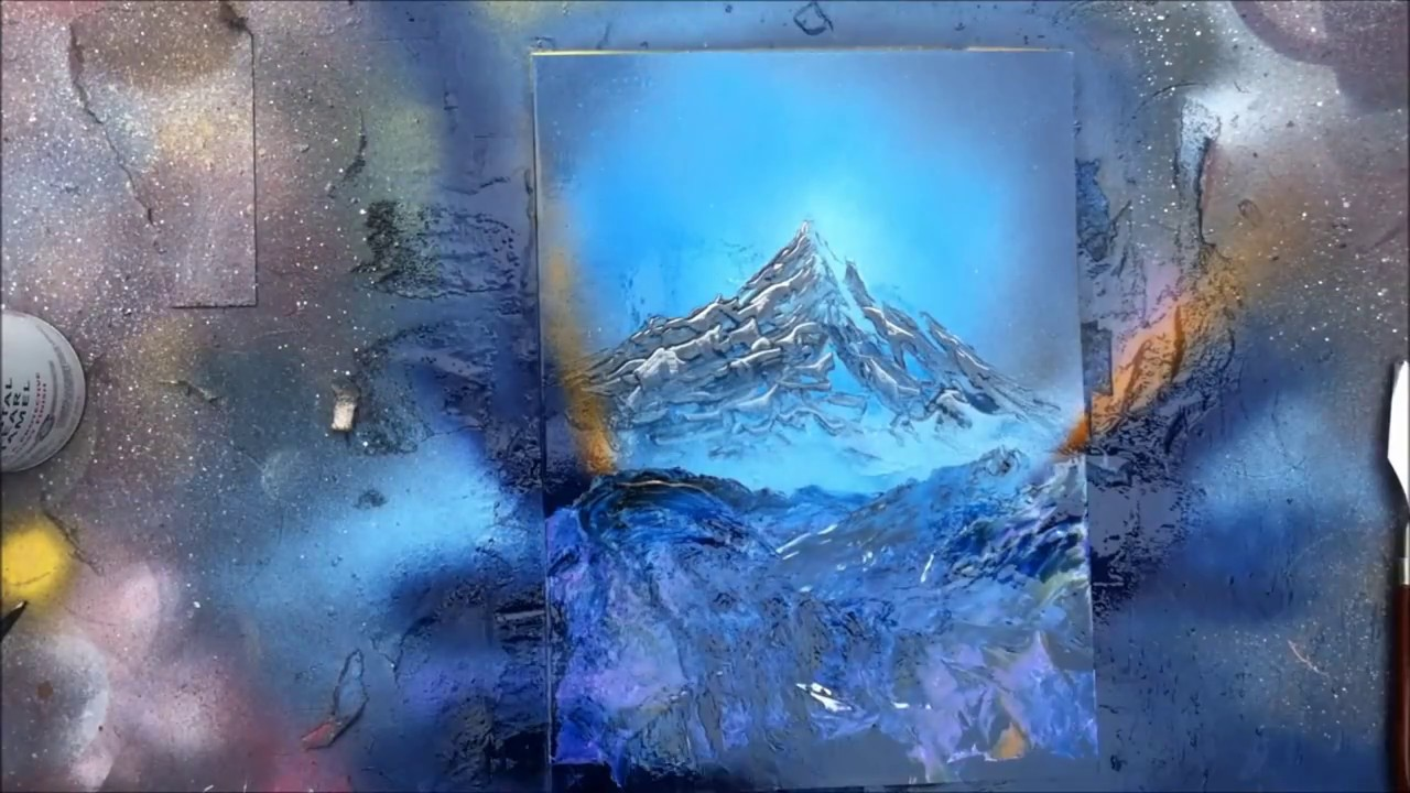 Paintings of Nature Scenes Nature Scene Spray Paint Art