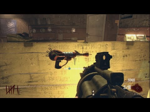 Golden Ray Gun Mark 2 Black Ops 2 Zombie Ray Gun