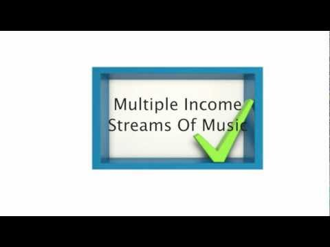 Multiple Income Streams of Music Business Part 1 of 3