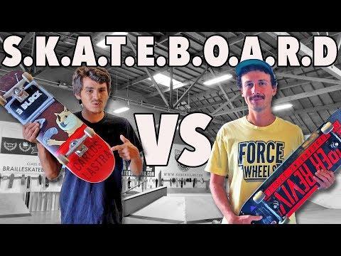 Game Of SKATEBOARD | Carlos Lastra VS Jonny Giger