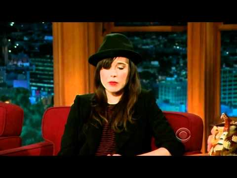 Ellen Page on Craig Ferguson 6/13/12 Late Late Show