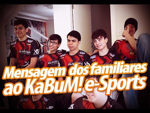 Mensagem dos familiares ao KaBuM! e-Sports