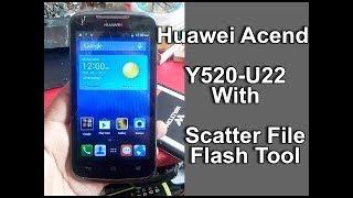 HUAWEI Y520 U22 FLASHING 100% TESTED