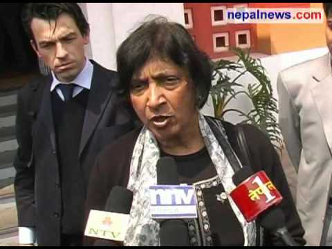UN High Commissioner Pillay interacts with civil society