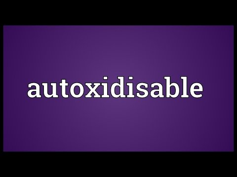 Header of Autoxidisable