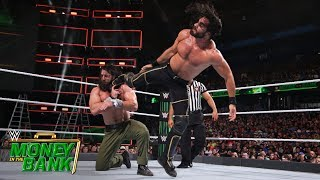 Rollins keeps Elias down with a relentless assault: Money in the Bank 2018 (WWE Network Exclusive)