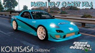 GTA 5 Mazda RX-7 C-West v0.1