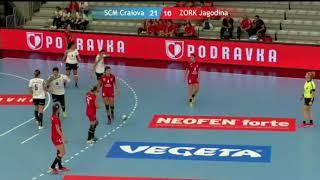 ZORK Jagodina - SCM Craiova away match second half 2018