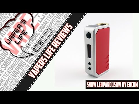 Обзор боксмода Snow Leopard 150W TC от компании Encom. И да, и нет...