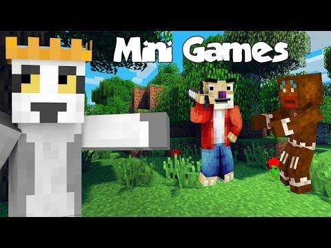 Król Julian Sid Ciastek Minecraft MiniGames