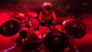 SLAYER Paul Bostaph - Repentless (Drum GoPro Footage 2015)