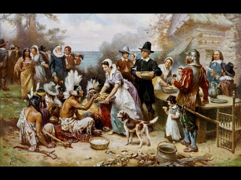 Every year when we dig into our turkey, are we celebrating the violence perpetrated against Native Americans? Should we celebrate a possibly racist holiday?