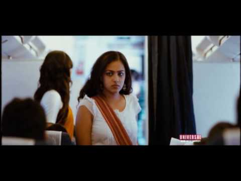 Ishq Movie Scenes || Nithya Menon Making Nitin Fool Comedy Scene...