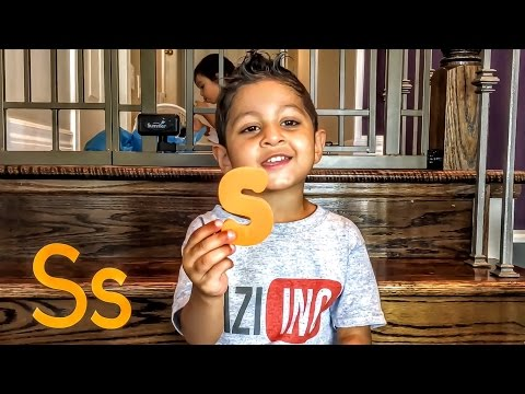 Alphabet Song and Letters for Toddlers and Preschool Children.