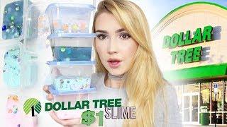 DOLLAR TREE SLIME CHALLENGE!!
