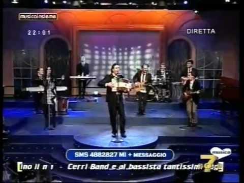 """Beppe Junior """" La pizzica Italiana"""" Su 7 Gold in diretta dagli studi di Assago Milano"""