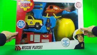 ???? Fireman Sam Rescue Playset Unboxing  ????  FEUERWEHRMANN SAM  ????