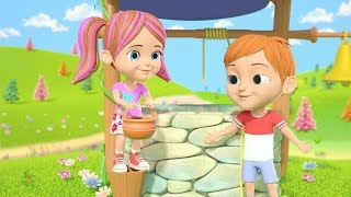 Jack and Jill | Kindergarten Nursery Rhyme Songs for Children | Kids Cartoons by Little Treehouse