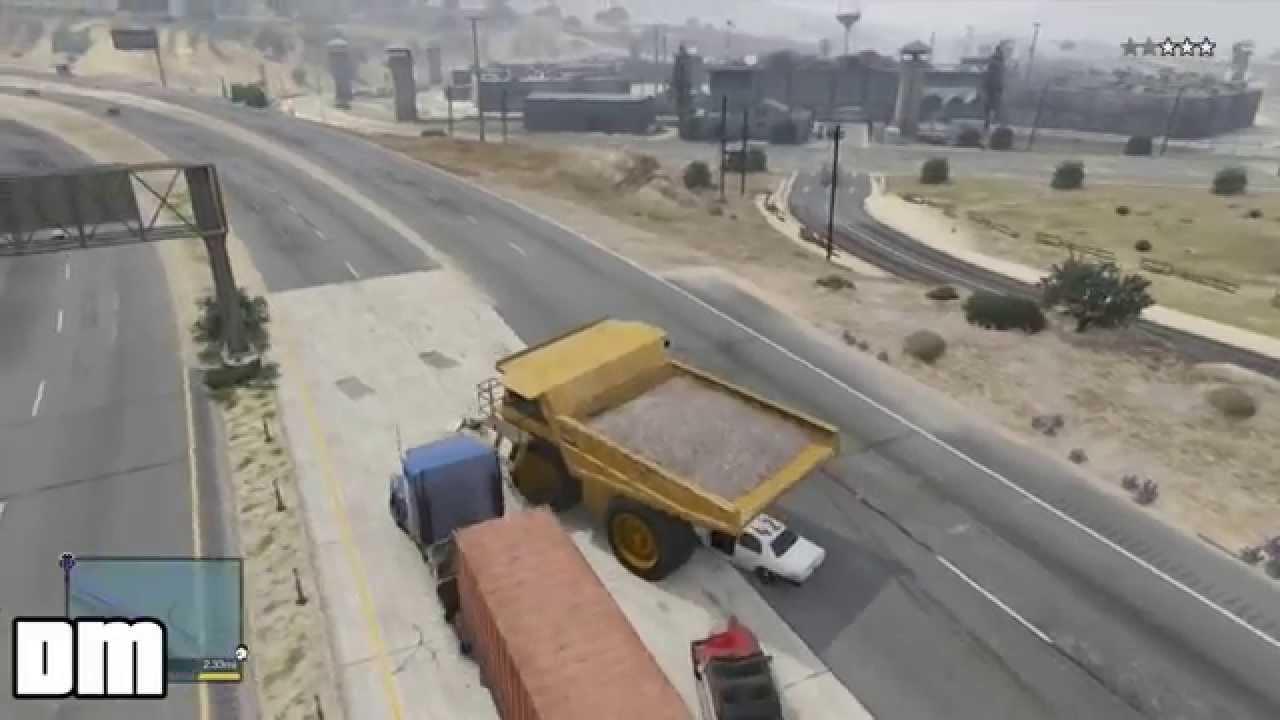 Gta 5 Dump Truck Location Gta v Giant Dump Truck