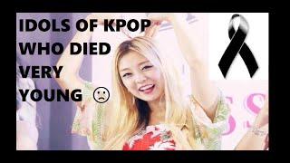 Download Lagu IDOLS OF KPOP WHO DIED VERY YOUNG #4 Gratis STAFABAND