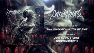DECEPTIONIST - Final Innovation/Automatic Time (Lyric video)