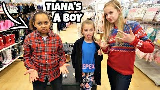 GIRLS VS BOYS!! CLOTHES SHOPPING CHALLENGE