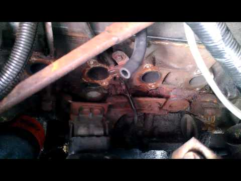 1997 f150 exhaust manifold change