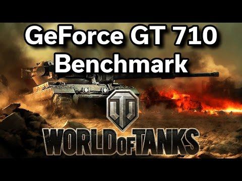 World of Tanks - i5-2400 - GeForce GT 710 - Benchmark