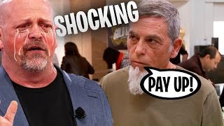 The Worst Scam in Pawn Stars History *RICK IS SCREWED*