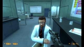 Fun With Freeman - Black Mesa Source (Mucking Around)