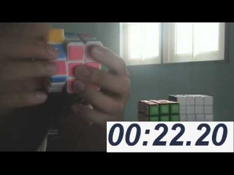 Watch Cube solving 30 sec! using kh