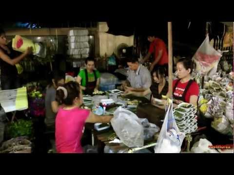 Thailand – Part 15/15 – Market Flowers, Bangkok  – Travel Video HD-Omnia Turism
