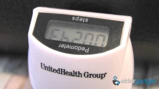 United Health Group - Pedometer and OptumizeMe App - ElderGadget CES 2012