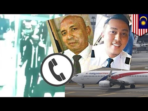 Malaysia Airlines Flight Mh370: Captain Shah Made Mystery Phone Call Before Take Off video